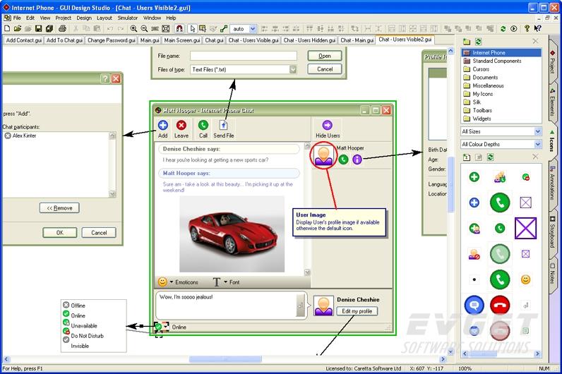 GUI Design Studio预览: