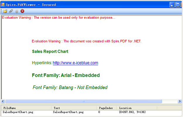 Spire.PDFViewer for WPF预览: