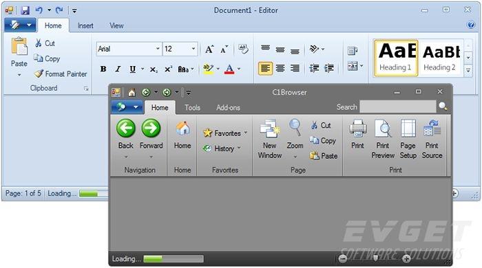 ComponentOne Studio Enterprise预览:navigation-layout01