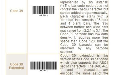 Stimulsoft Reports.Java预览:Bar-Codes