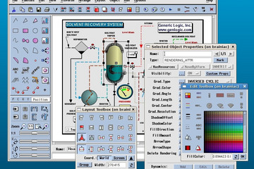 GLG Graphics Server预览:GLG Graphics Builder