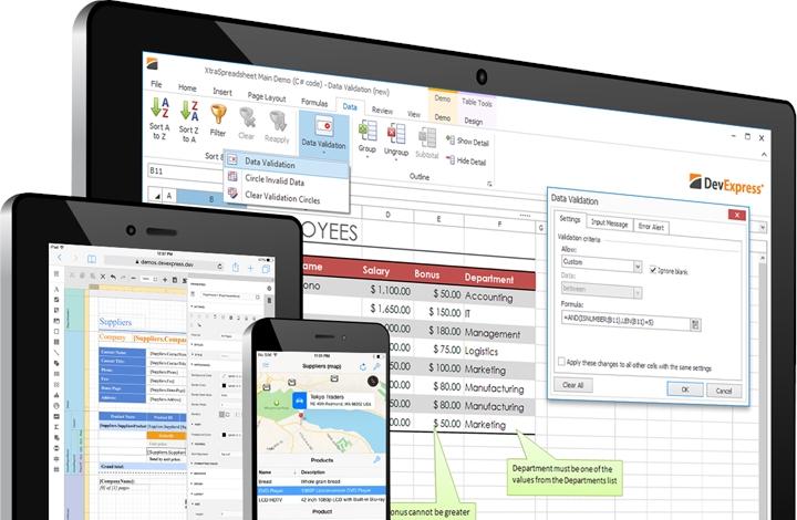 DevExpress Universal Subscription预览:Winforms界面