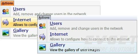 TMS Advanced Toolbars & Menus预览:Office 2003 style menus & docking toolbars