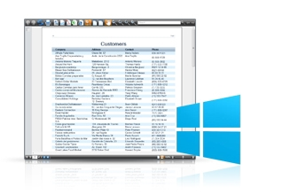SharpShooter Reports.WPF预览:SharpShooter Reports.WPF