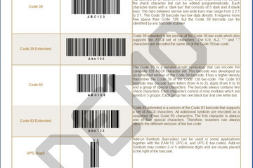 Stimulsoft Ultimate预览:Bar Codes