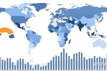 TeeChart for .NET预览:Map Chart