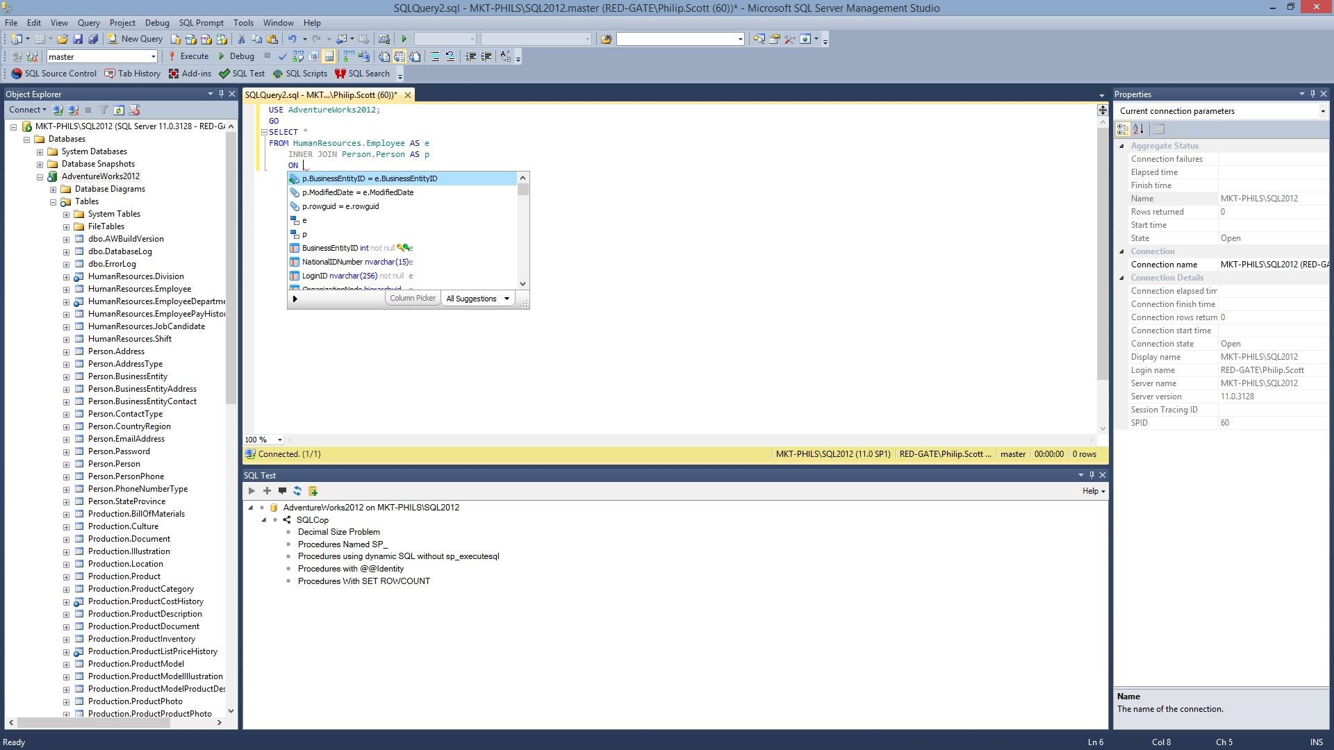 SQL Prompt预览:自动完成您的工作