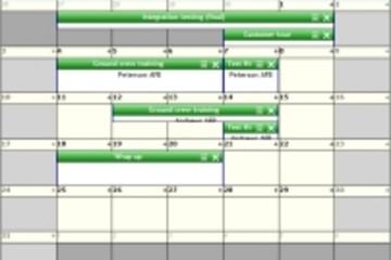 TMS ASP.NET WebPlanner预览:month planner