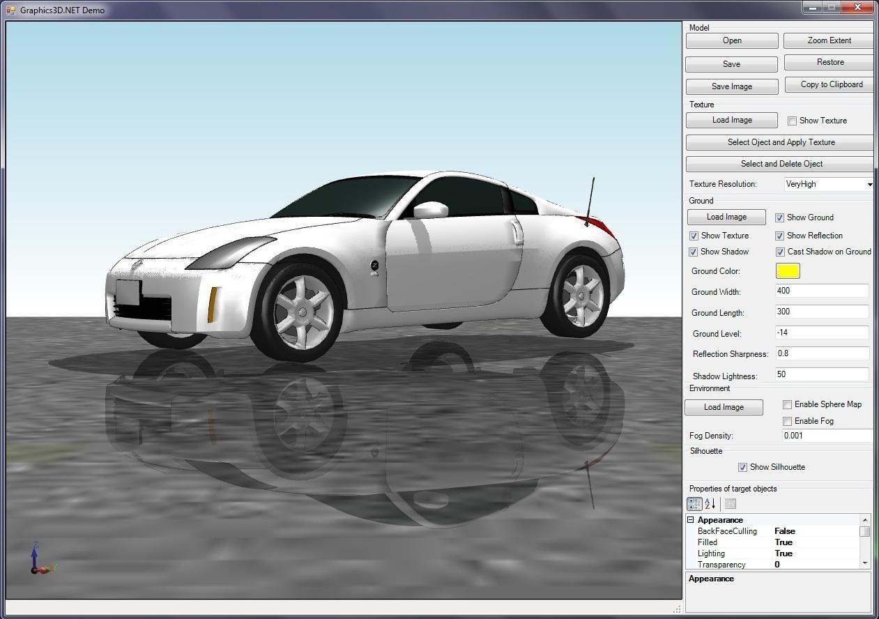 Graphics3D.NET预览:Graphics3D.NET截图