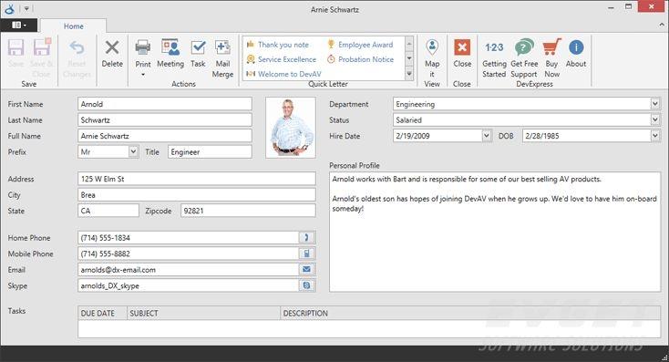 DevExpress Universal Subscription预览:WPF - Data editor