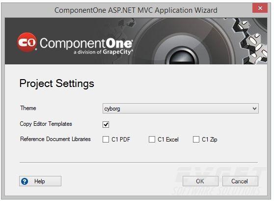 ComponentOne Studio - MVC Edition预览: