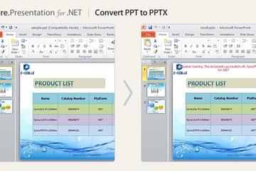 Spire.Presentation for .NET 预览:Spire.Presentation for .NET图集