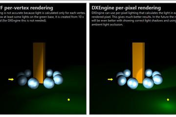 Ab3d.DXEngine预览:WPF-DXEngine-quality-comparison