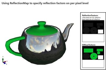 Ab3d.DXEngine预览:DirectX-ReflectionMap
