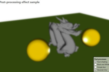Ab3d.DXEngine预览:DirectX-PostProcessing1