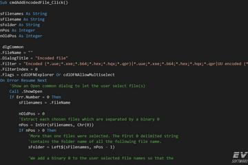 Xceed EncodingforActiveX预览:Xceed-Ben-ActiveX-Screenshot