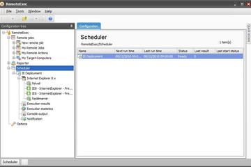 RemoteExec预览:08-Scheduler