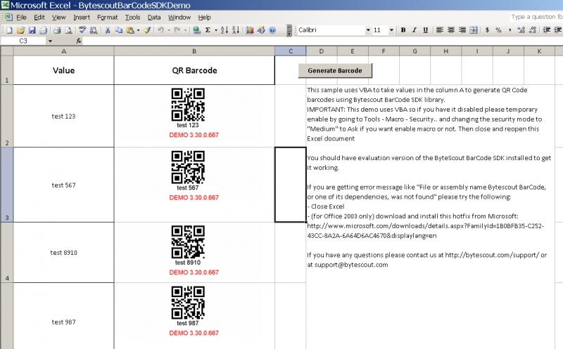 BarCode Generator SDK预览:barcode_generator_sdk_screenshot_4