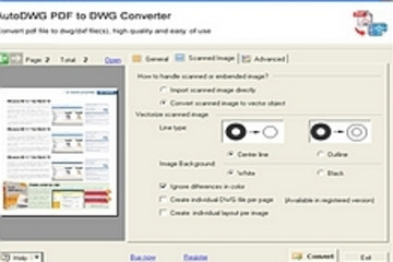PDF to DWG Converter预览:PDF to DWG Converter 1