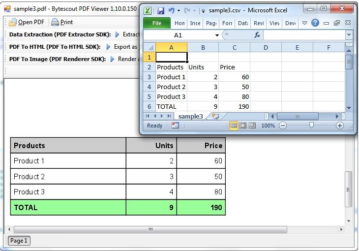 PDF Extractor SDK预览:PDF Extractor SDK 5