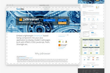 JxBrowser预览:JxBrowser功能截图