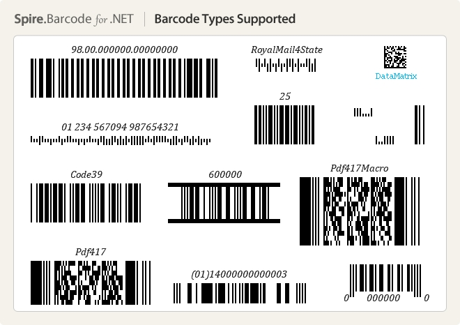 Spire.Barcode for .NET预览:4