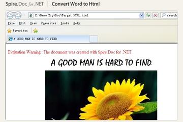 Spire.Doc for .NET预览:Spire.Doc for .NET页面截图