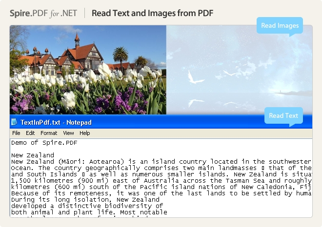 Spire.PDF for .NET预览:图集