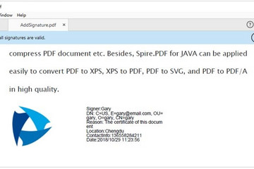 Spire.PDF for Java预览: