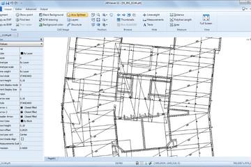 ABViewer预览:(PLT文件查看)在ABViewer中使用PLT文件。