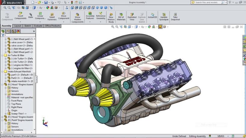 三维设计 SOLIDWORKS 3D CAD预览: