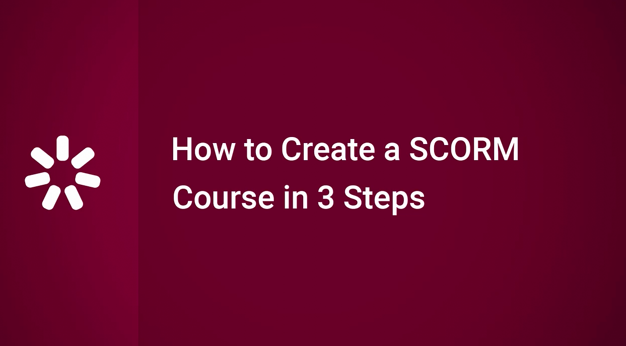 iSpring Suite 视频教程(11):三步创建SCORM课程