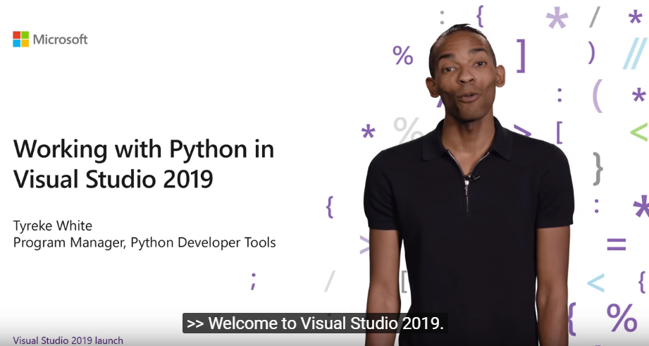Visual Studio 2019发布:使用Visual Studio开发Python!