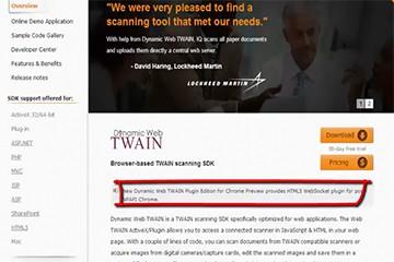 Dynamic Web TWAIN如何在HTML5浏览器中运行?