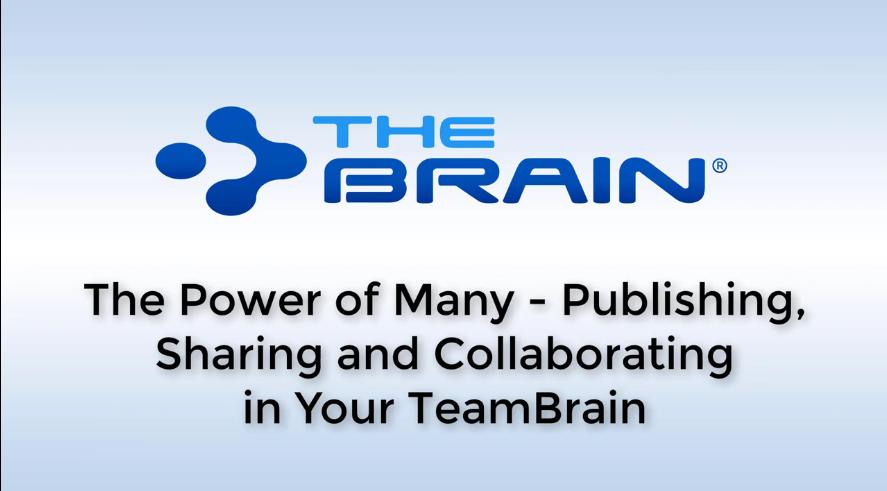 【TheBrain网络研讨会】在TeamBrain中共享多人力量!