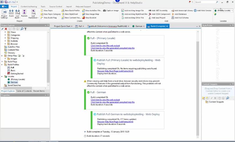 Document! X系列教程:如何发布到web站点、ftp服务器或网络位置