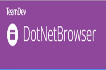 【更新】.NET库DotNetBrowser更新至v1.20,使用全新Chromium引擎!
