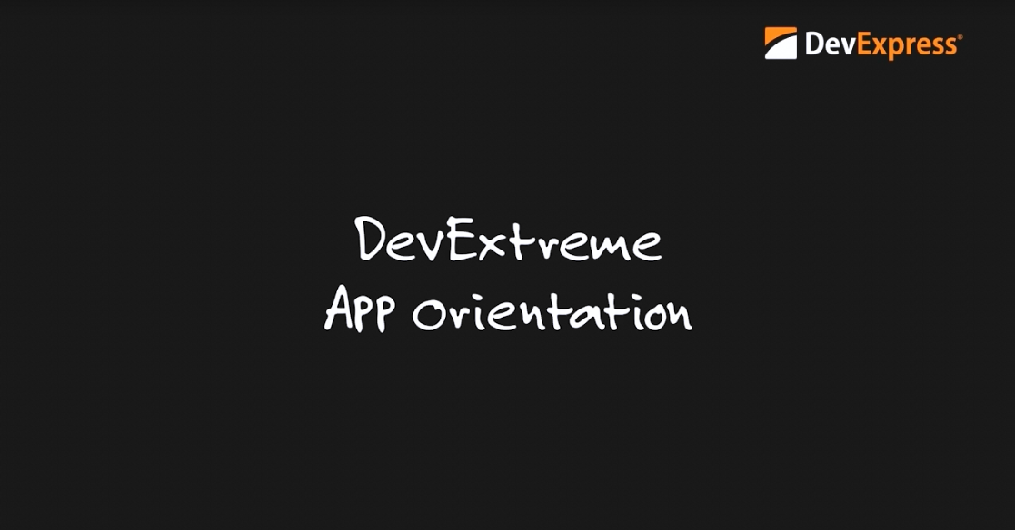 DevExpress DevExtreme SPA框架:App Orientation