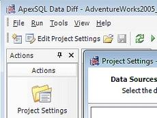 ApexSQL Data Diff
