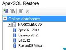 ApexSQL Restore