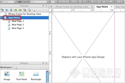 axure运用:使用axure创建iphone应用程序原型(一)
