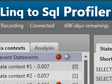 Linq to SQL Profiler