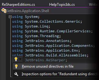【更新】ReSharper v2016.3发布,Visual Studio 2017 RC初步支持