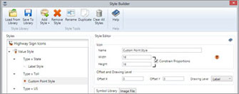 Style Builder - Map Suite GIS Editor