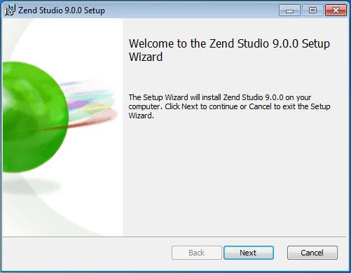 Zend Studio 9.0 最新版安装过程