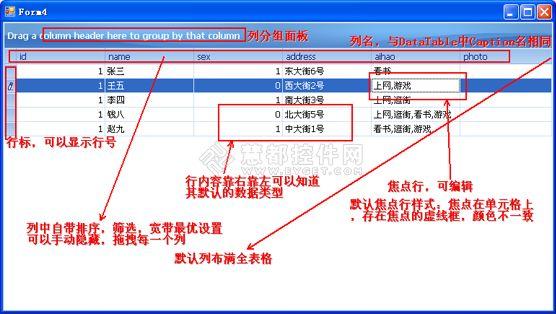gridcontrol教程(一)