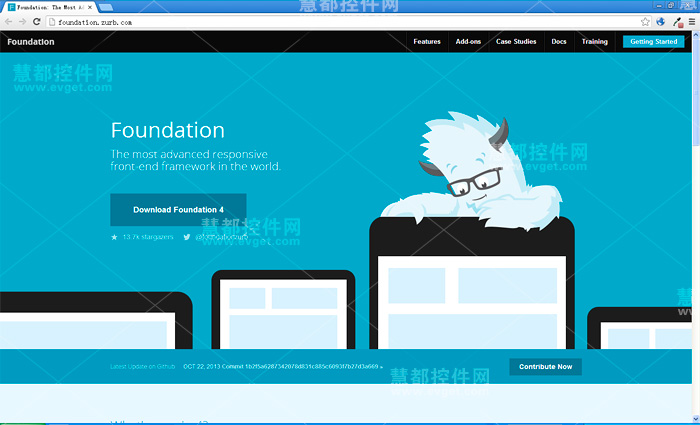 Zurb Foundation,2014年,HTML/CSS框架