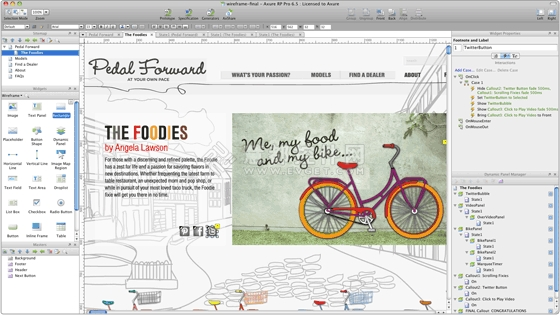 用户界面工具设计餐饮推荐特色原型装修设计图片