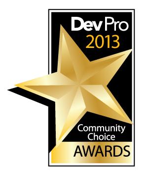 Toolkit Pro荣获2013年度Dev Pro社区选择奖
