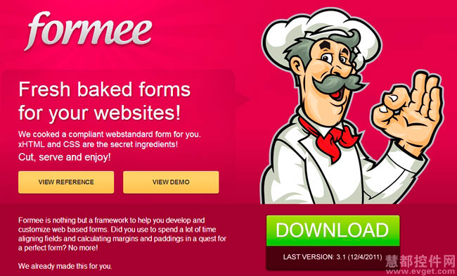 Formee,CSS框架,跨浏览器Web forms,Fluid 960 Grid System